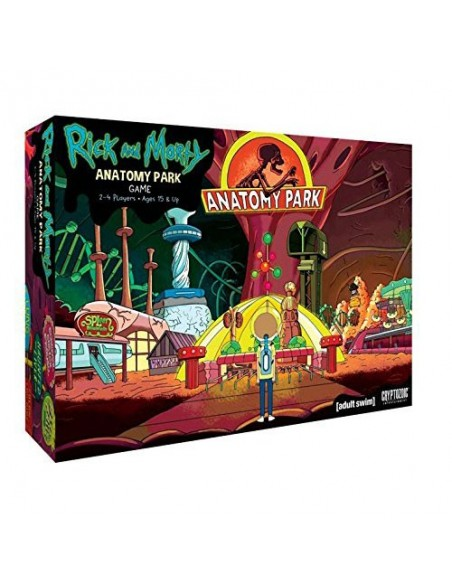 Rick and Morty: Anatomy Park - The Game - Caja - Magicsur Chile