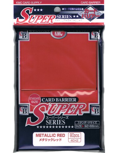 KMC Super Series Rojo Metálico