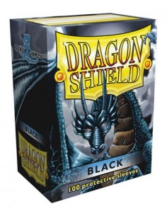 Protectores Dragon Shield Negro (100)