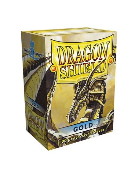 Protectores Dragon Shield Dorado (100)