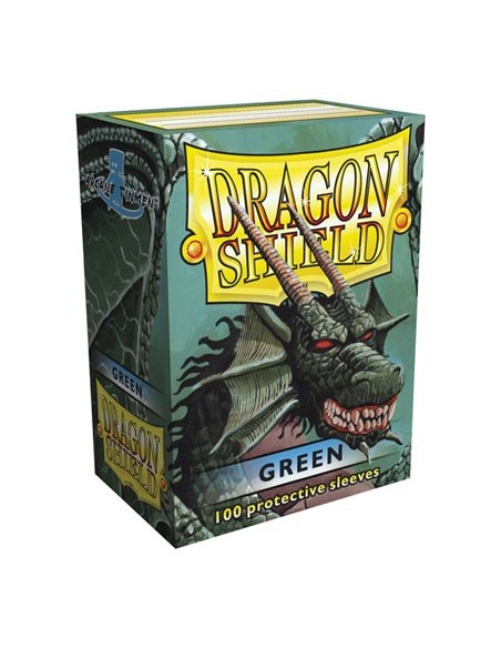 Protectores Dragon Shield Verde (100)