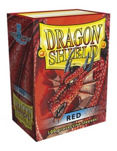 Protectores Dragon Shield Rojo (100)