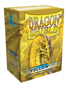 Protectores Dragon Shield Amarillo (100)