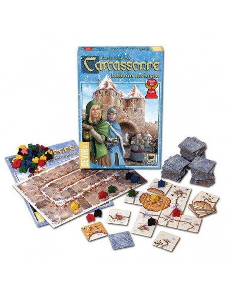 Carcassonne Invierno