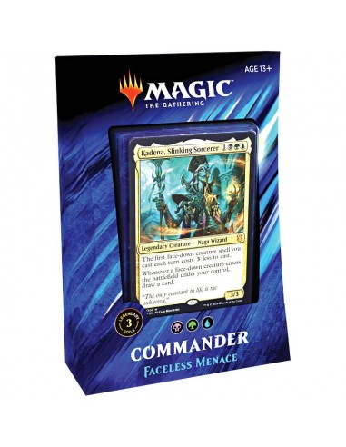 Mazo Commander 2019 Faceless Menace - Blue
