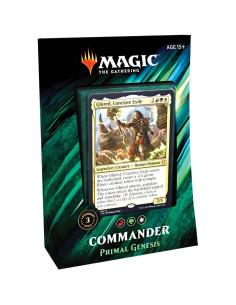 Preventa Mazo Commander 2019 Primal Genesis - Green