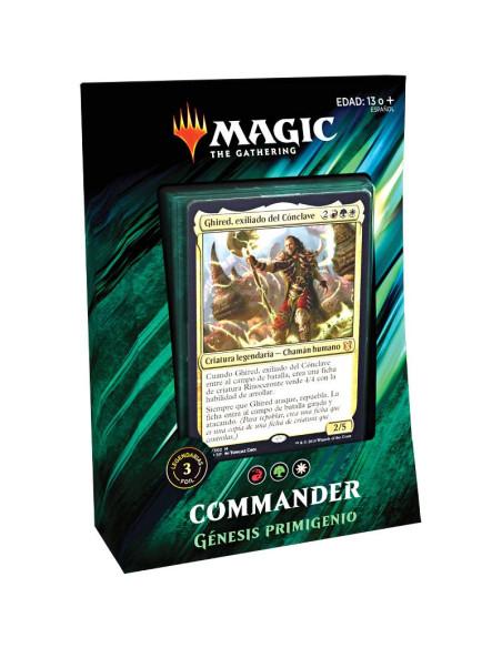 Preventa Mazo Commander 2019 Génesis Primigenio - Verde