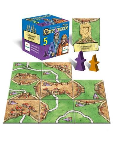 Carcassonne Mini: El Mago y La Bruja