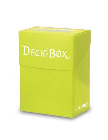 Solid Deck Box Amarillo Brillante