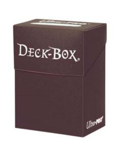 Solid Deck Box Marron