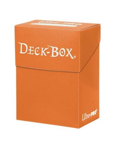 Solid Deck Box Naranja