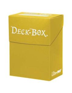 Solid Deck Box Amarilla