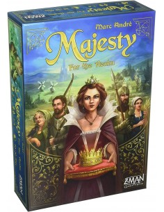 Majesty: For the Realm - caja