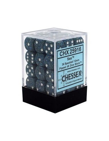 Dados Chessex: Speckled: D6 12mm Sea...