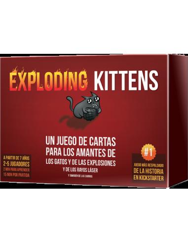 Exploding Kittens - Gatos Explosivos