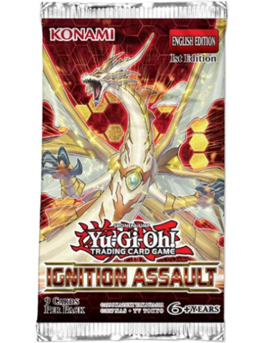 Yu-Gi-OH! Ignition Assault Booster Pack