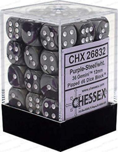 Dados Chessex: Gemini: D6 12mm...