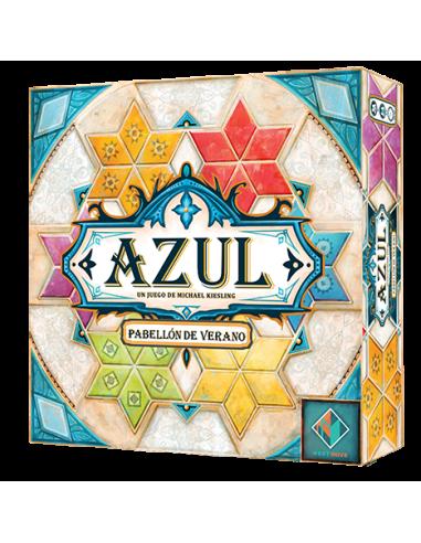 Azul: Pabellón de Verano caja en magicsur chile