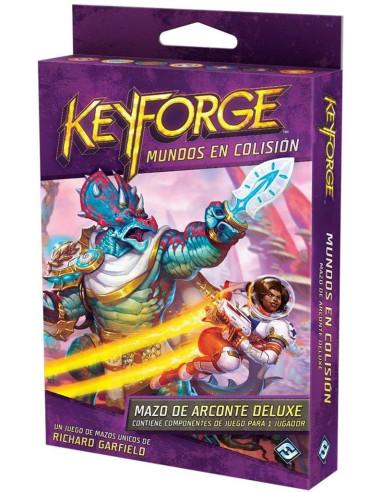 Keyforge: Mundos en Colisión - Mazo Deluxe - Caja