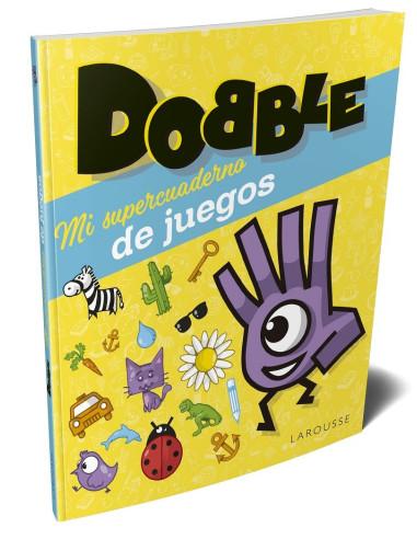 Mi super cuaderno de juegos Dobble - la portada