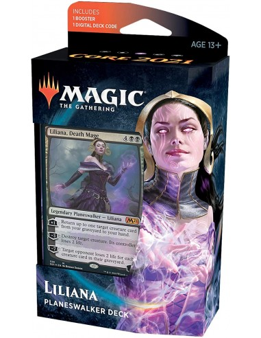 Magic: The Gathering Liliana Death Mage Planeswalker Deck Mazo Preconstruido en Chile