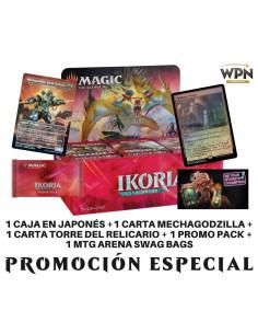 Promoción especial apoya a tu tienda local Cajas de Sobres de Ikoria: Lair of Behemoths en idioma japonés