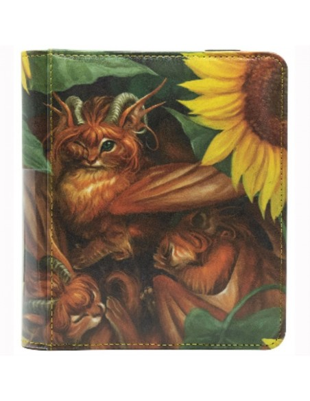 Carpeta Dragon Shield: Codex 2 Pocket Portfolio Binder – Tangerine Dyrkottr - Magicsur Chile