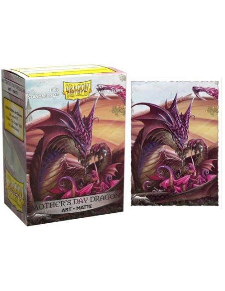 Protectores Dragon Shield: Art Matte - Mother's Day Dragon 2020 (100pzs) - Edición Limitada - Magicsur Chile