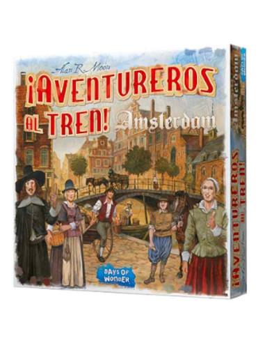¡Aventureros al Tren! Amsterdam - Caja - Magicsur Chile