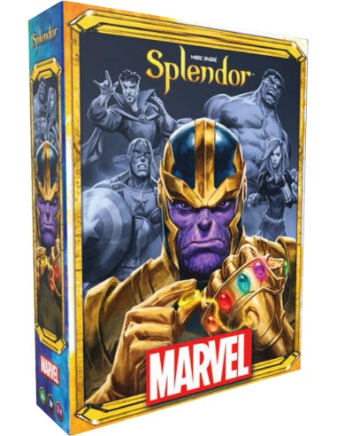 Splendor: Marvel - Caja - Magicsur Chile