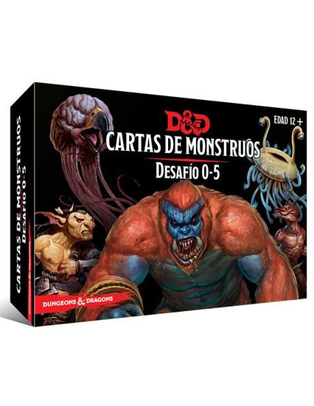 Dungeons & Dragons: Cartas de Monstruos - Desafio 0-5 - Magicsur Chile