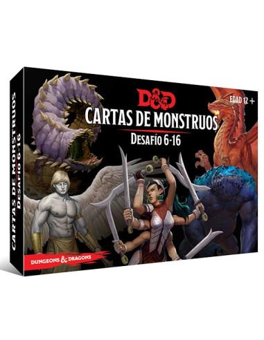 Dungeons & Dragons: Cartas de Monstruos - Desafío 6 - 16 - Magicsur Chile