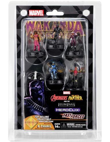 Marvel HeroClix: Avengers Black...