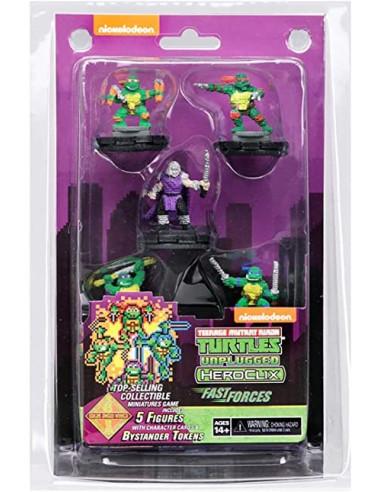 Heroclix Teenage Mutant Ninja Turtles Shredder's Return Fast Forces 6-Pack