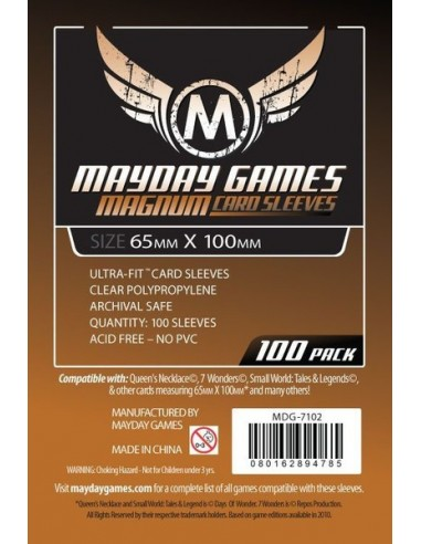 Protectores Mayday 65 X 100 mm Brown