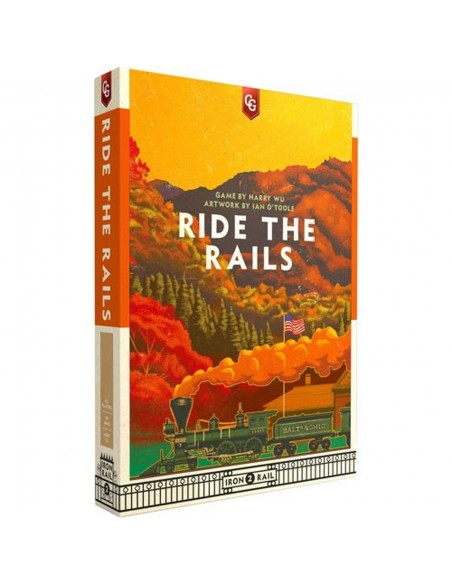 Juego de mesa de trenes Ride the Rails en Magicsur Chile