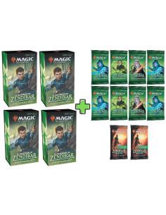 COMBO 4 Packs de Prerelease de El Resurgir de Zendikar en Magicsur Chile