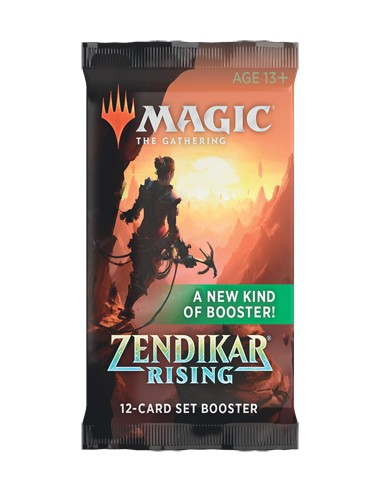 Magic The Gathering Zendikar Rising en Chile - Set Booster Individual - Sobres de Colección