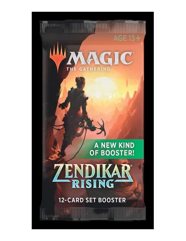 Magic The Gathering Zendikar Rising en Chile - Set Booster Individual - Sobres de Colección