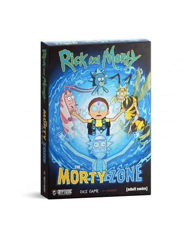 Rick and Morty: The Morty Zone Dice Game - Caja - Magicsur Chile
