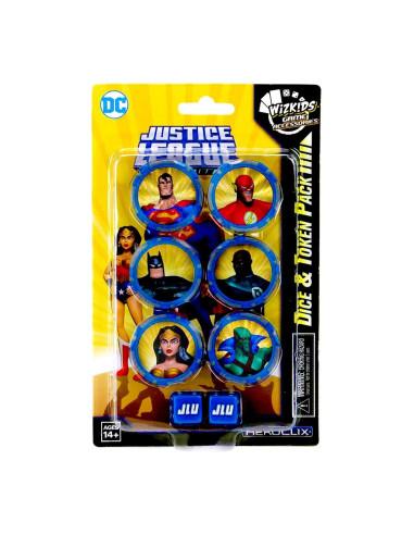 Dc Comics Heroclix: Justice League Unlimited Dice And Token Pack - Caja - Magicsur Chile