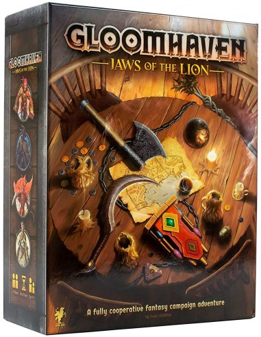 Juego de Mesa Gloomhaven: Jaws of the Lion - Caja - Magicsur Chile