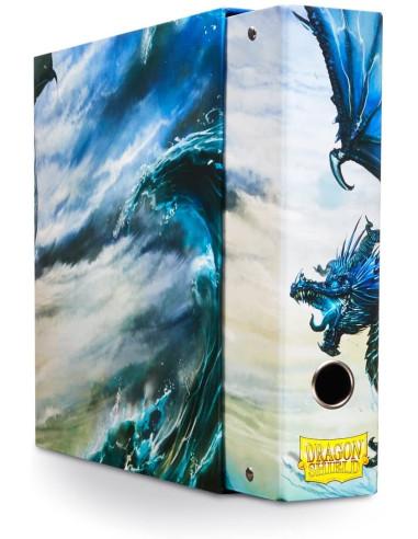 Carpeta Dragon Shield 3 Anillos Azul (Blue) en Magicsur Chile