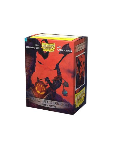 Protectores Dragon Shield: Matte Art - Halloween Dragon (100pzs) - Magicsur Chile
