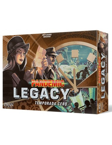 Pandemic Legacy: Temporada 0 - Juego de Mesa - Caja - Magicsur Chile