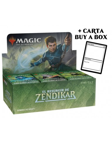 Magic The Gathering Zendikar Rising en Chile - Promoción Buy a Box Caja de 36 sobres Draft Booster Box