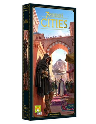 7 Wonders: Cities Nueva Edición - Caja - Magicsur Chile
