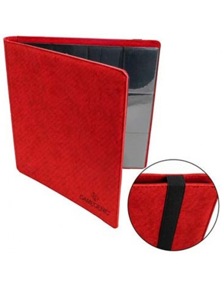 Carpeta GameGenic: Prime Album 18-Pocket - Rojo - Magicsur Chile