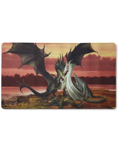 Playmat Dragon Shield: Valentine Dragons - Edición Limitada - Magicsur Chile