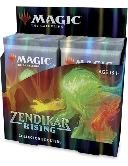 Caja Magic: The Gathering Zendikar Rising Collector Booster Box (12 sobres)